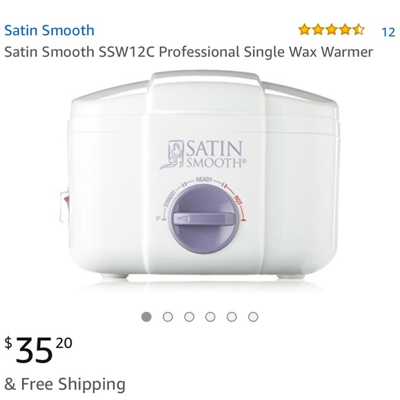Brand new Satin smooth single wax warmer and wax